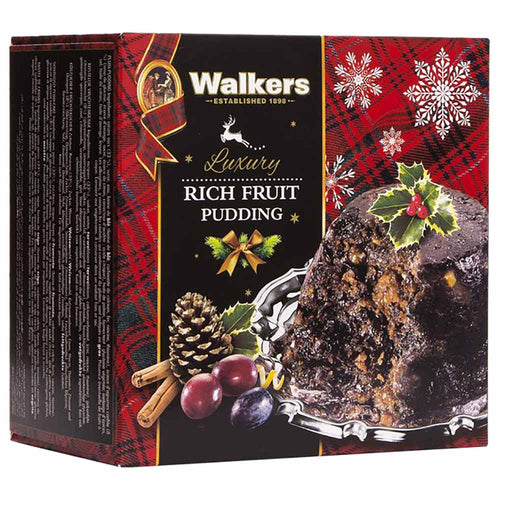 Walker's Luxury Rich Fruit Pudding 16 oz. (454g)