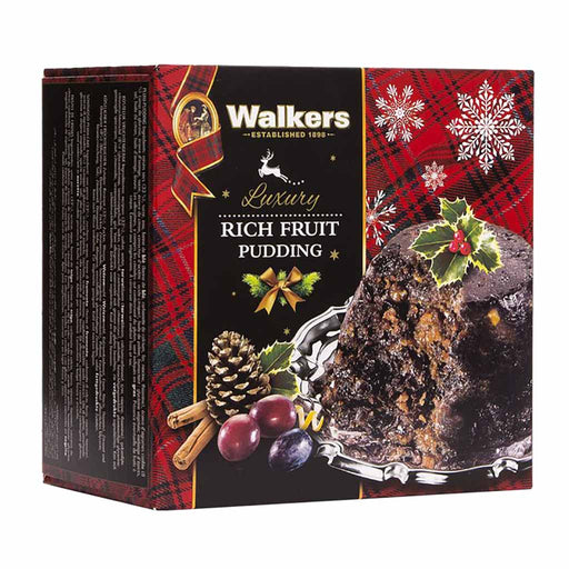 Walker's Luxury Rich Fruit Pudding 8 oz. (227g)