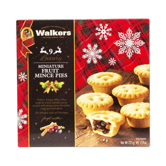 Walkers Mini Mince Pies, 7.9 oz (9 Pc)