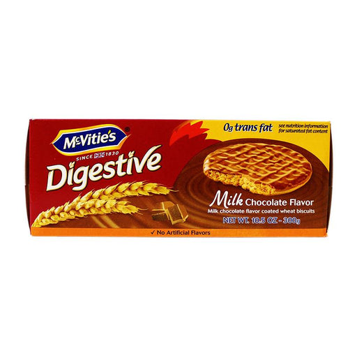 McVitieÕs Milk Chocolate Digestive Biscuits, 10.5 oz (300 g)