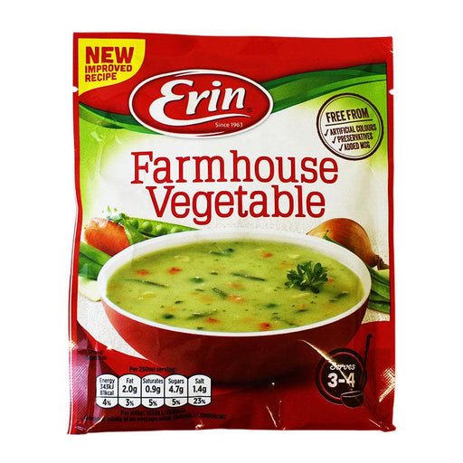 Erin Farmhouse Vegetable Soup Mix, 2.6 oz (75 g)