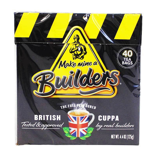 Builders British Tea, 40 bags 5.5 oz (156 g)