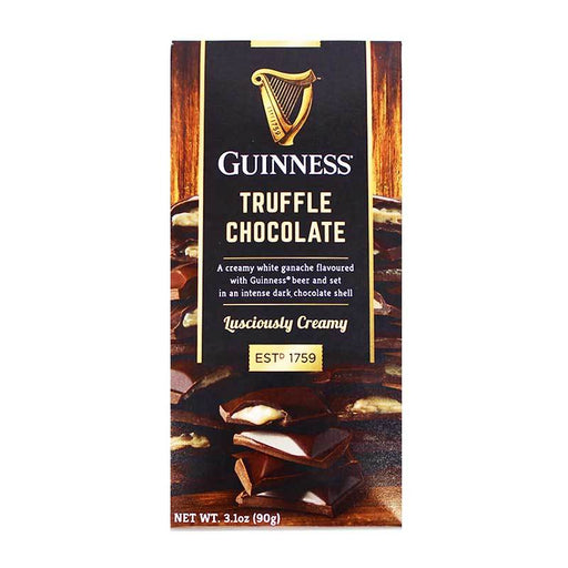 Guinness Chocolate Truffle Bar, 3.1 oz (90g)