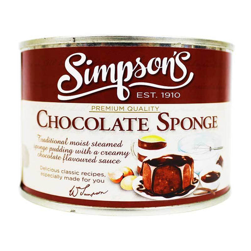 Simpon's Chocolate Sponge Pudding, 10.6 oz (300 g)
