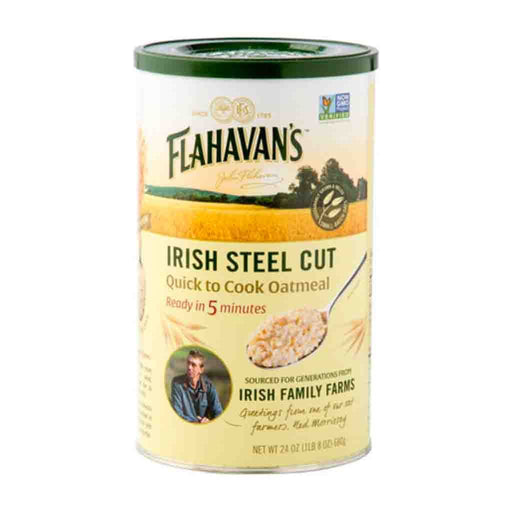 Flahavan's Irish Steel Cut Quick Cook Oatmeal, 24 oz (680 g)