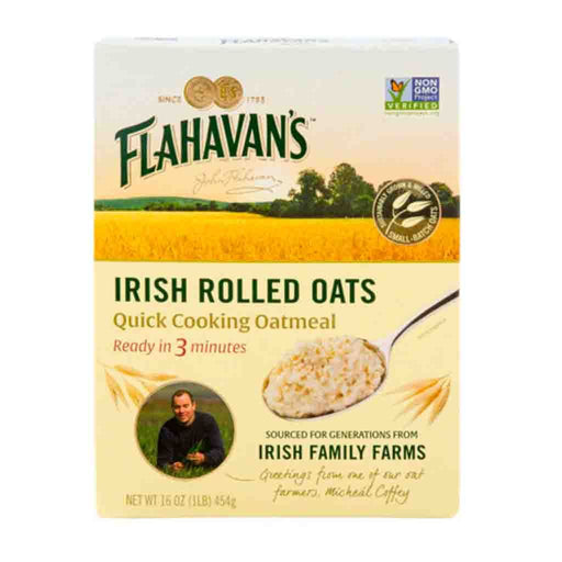 Flahavan's Irish Rolled Oats Quick Cooking Oatmeal, 16 oz (454 g)