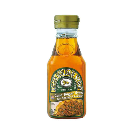 Lyle's Golden Syrup Cane Sugar Syrup for Baking and Cooking, 11 fl oz (325 mL)