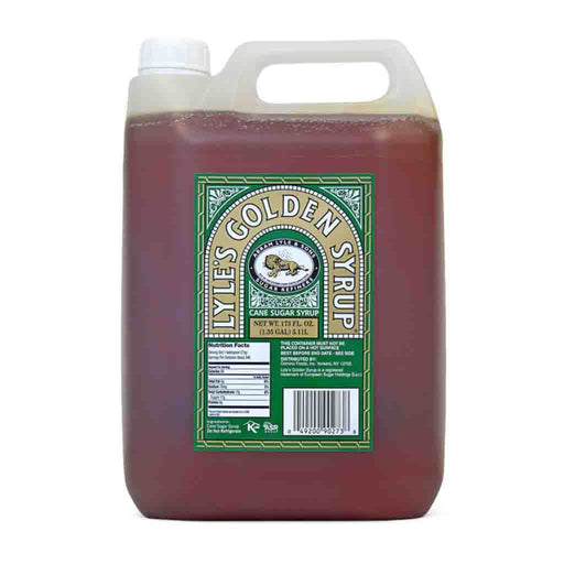 Lyle's 5 Liter Cane Sugar Syrup for Baking and Cooking, 1.35 Gal