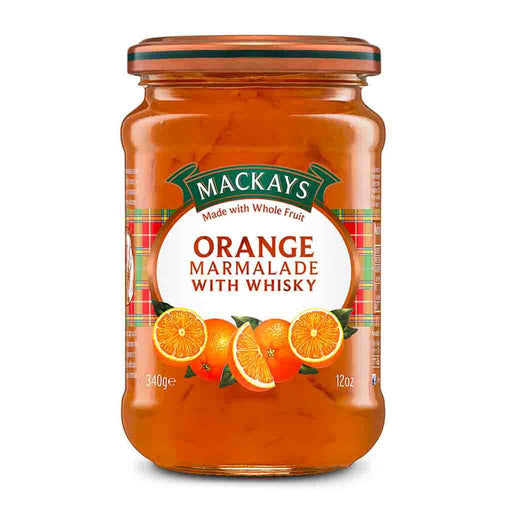 Mackays Orange Marmalade with Whisky, 12 oz (340 g)
