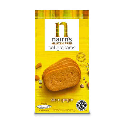 Nairn's Gluten Free Graham Crackers with Ginger, 5.64 oz (160 g)