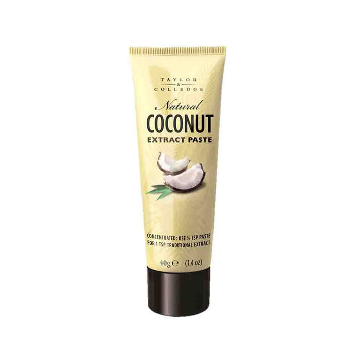 Taylor & Colledge Coconut Extract Paste, 1.4 oz (40 g)