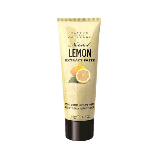 Taylor & Colledge Lemon Extract Paste, 1.4 oz (40 g)