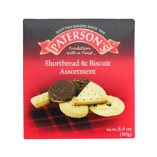 Paterson's Shortbread and Biscuit Assortment, 6.5 oz (185 g)