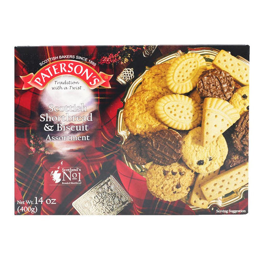 Paterson's Shortbread and Biscuit Tartan Assortment, 14 oz (400 g)