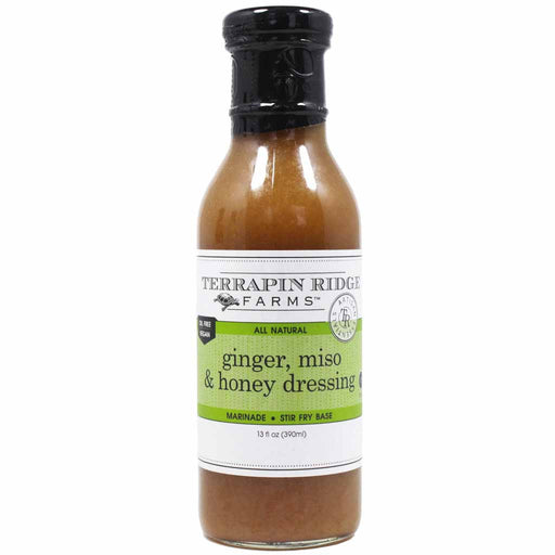 Terrapin Ridge Farms - Ginger, Miso & Honey Dressing, 12 oz