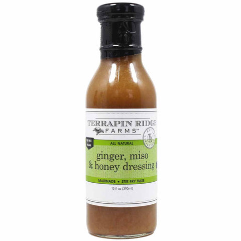 Ginger, Miso & Honey Dressing by Terrapin Ridge Farms 12 oz
