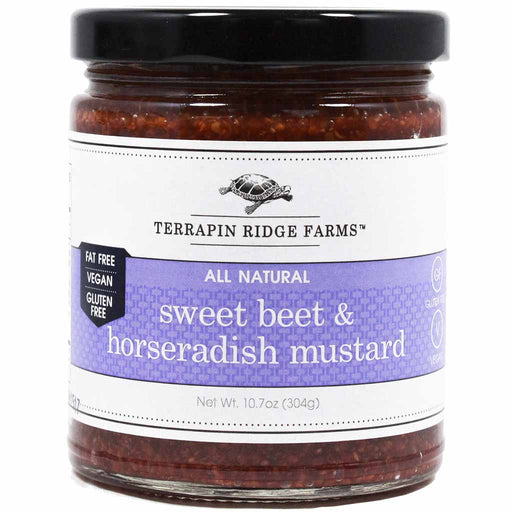 Terrapin Ridge Farms - Sweet Beet & Horseradish Mustard, 12 oz