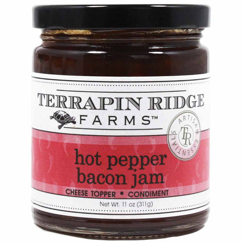 Hot Pepper Bacon Jam by Terrapin Ridge Farms 11 oz