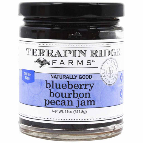 Blueberry Bourbon Pecan Jam by Terrapin Ridge Farms 11 oz