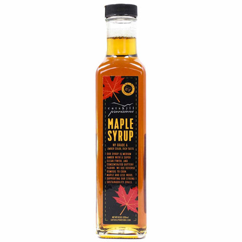 Grade A Premium Maple Syrup by Catskill Provisions 8.5 oz
