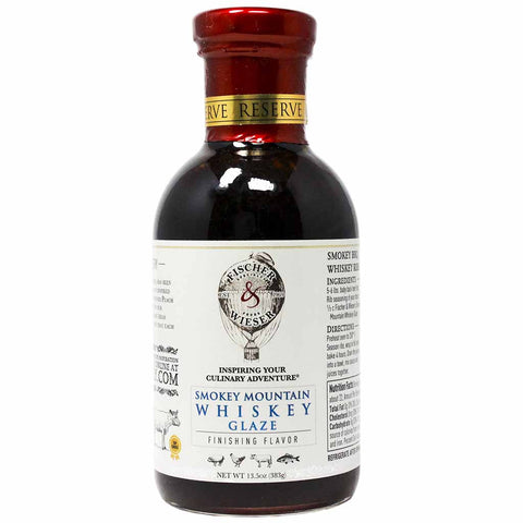 Smokey Mountain Whiskey Glaze by Fischer & Wieser 13.5 oz