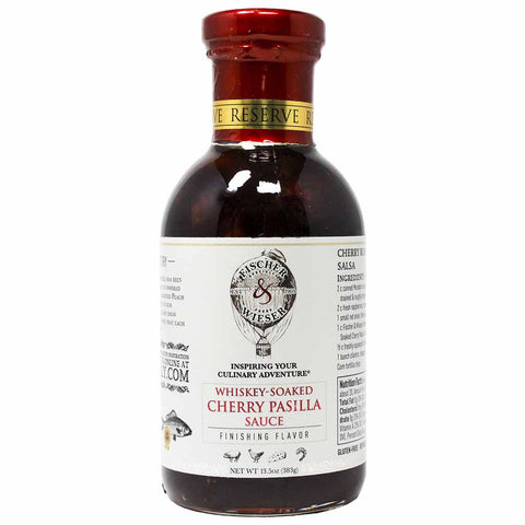 Whiskey-Soaked Cherry Pasilla Sauce by Fischer & Wieser 13.5 oz
