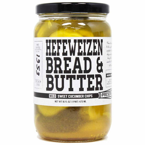 Hefeweizen Bread and Butter Chips by Preservation Co. 16 oz