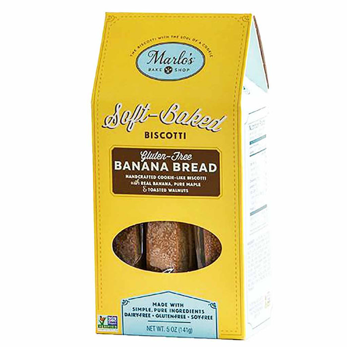 Marlo's Banana Bread Soft Baked Biscotti 5 oz. (141g)