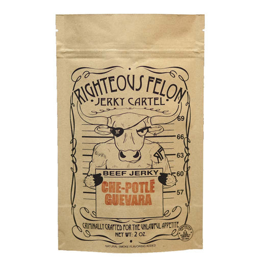 Righteous Felon Jerky, Che-Potle Guevara, 2 oz
