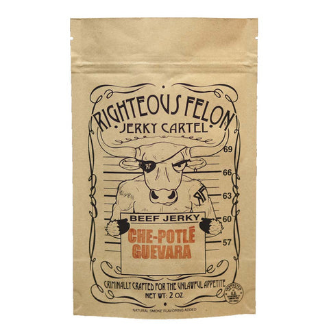 Che-Potle Guevara Beef Jerky by Righteous Felon 2 oz