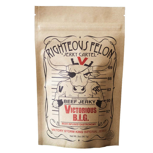 Righteous Felon Jerky, Victorious B.I.G., 2 oz