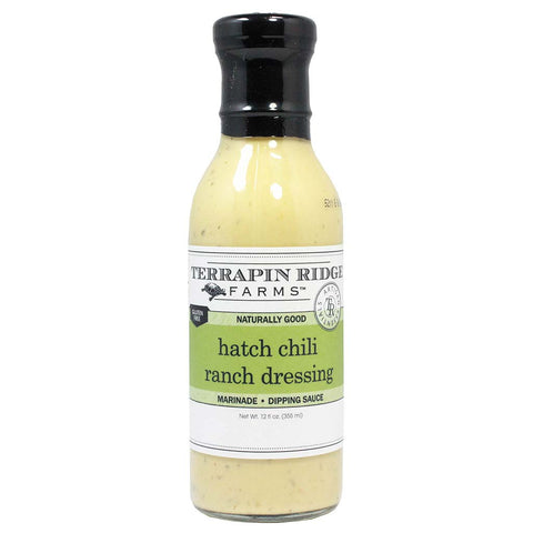 Hatch Chili Ranch Dressing by Terrapin Ridge Farms 12 oz