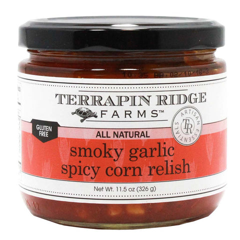 All Natural Smoky Garlic Spicy Corn Relish by Terrapin Ridge Farms 11.5 oz