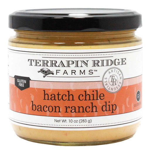 Terrapin Ridge Farms Dip, Hatch Chile Bacon Ranch, 10 oz