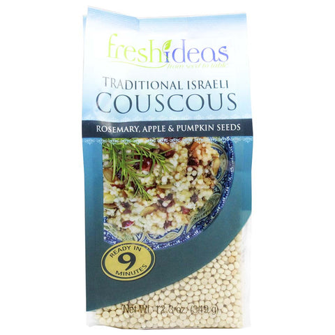 Couscous with Rosemary, Apple and Pumpkin Seeds by Fresh Ideas 12.3 oz