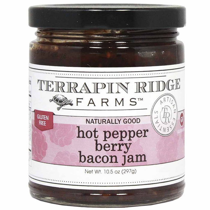 Hot Pepper Berry Bacon Jam, Terrapin Ridge Farms, 10.5 oz