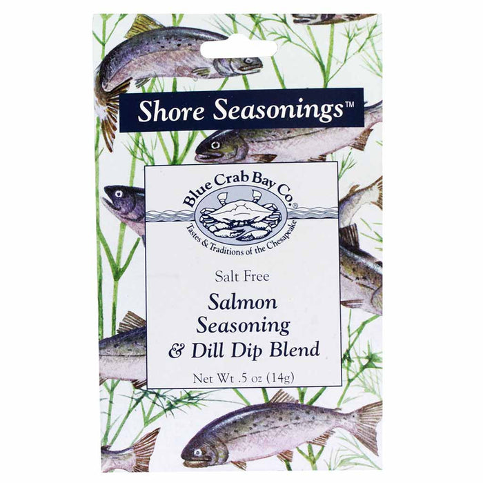 Salmon Seasoning and Dill Dip Blend by Blue Crab Bay Company 0.5 oz
