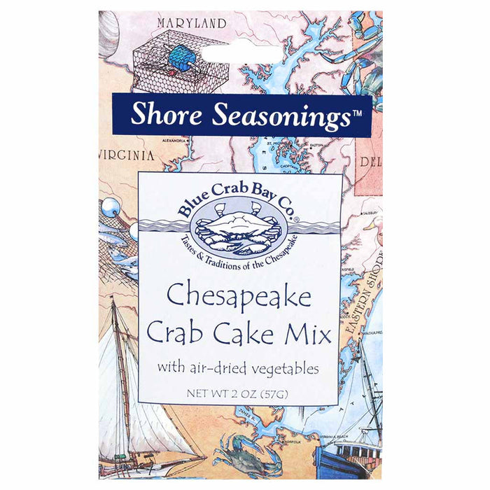 Chesapeake Crab Cake Mix by Blue Crab Bay Company 2 oz