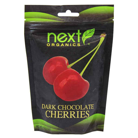 Organic Dark Chocolate Cherries by Next Chocolates 4 oz