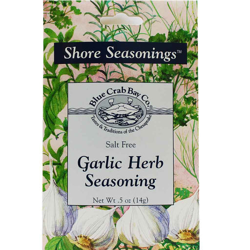 Blue Crab Bay Co. Salt Free Garlic Herb Seasoning .5 oz. (14 g)