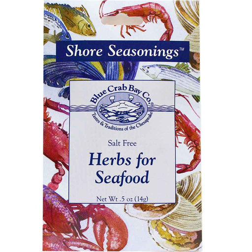Blue Crab Bay Co. Salt Free Herbs for Seafood .5 oz. (14 g)