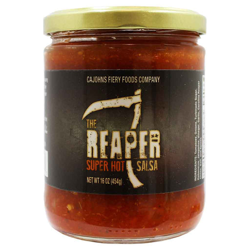 CaJohns Smokin Ed's Reaper Super Hot Salsa 16 oz. (454 g)
