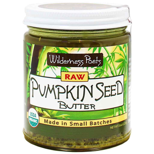 Wilderness Poets - Raw Pumpkin Seed Butter, 8 oz. (227 g)