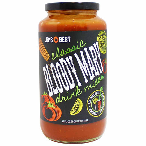 JB's Best Classic Bloody Mary Drink Mixer 32 fl. oz. (946 mL)