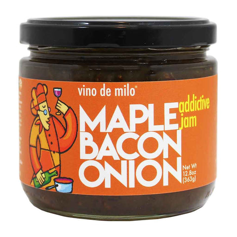 Vino de Milo Maple Bacon Onion Jam 12.8 oz. (363g)