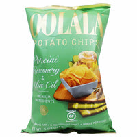Natural Nectar Oolala Porcini, Rosemary & Olive Oil Potato Chips 5 oz. (141g)
