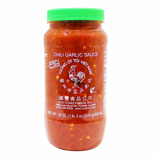 Chili Garlic Sauce by Huy Fong Foods, 18 oz. (510g)