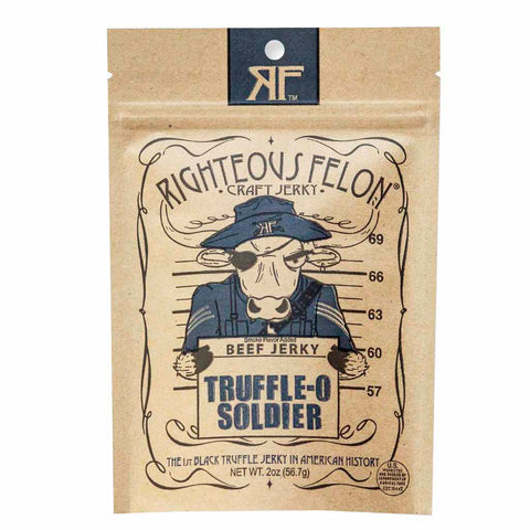 Righteous Felon Truffle-O Soldier Beef Jerky 2 oz. (56g)
