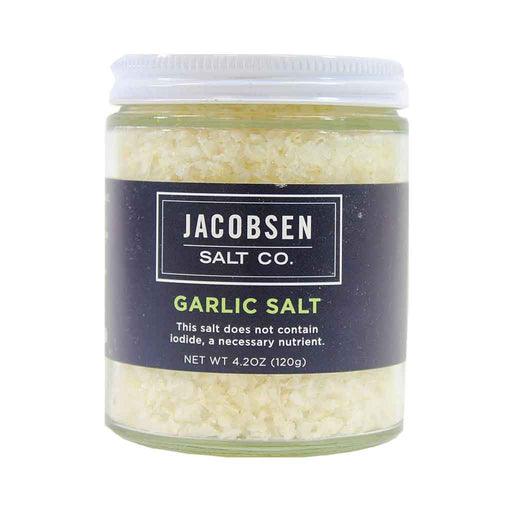 Jacobsen Salt Co Garlic Infused Sea Salt, 4.2 oz.