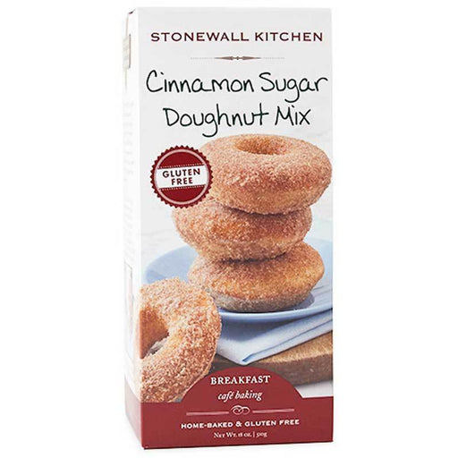 Stonewall Kitchen Gluten Free Cinnamon Sugar Doughnut Mix, 18 oz (510 g)